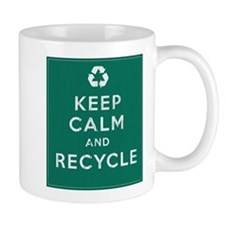 Keep Calm and Recycle Mug