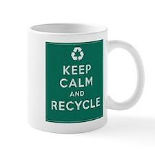 Keep Calm and Recycle Small Mug