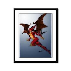 VANGUARD: Dragonette Framed Panel Print
