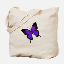 Purple Swallowtail Tote Bag