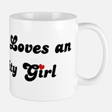 Loves Iowa City Girl Mug