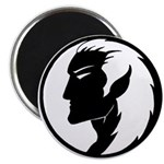 "Dark Elf Designs 2.25"" Magnet (100 pack)"