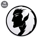 "Dark Elf Designs 3.5"" Button (10 pack)"