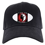 Dark Elf Designs Black Cap