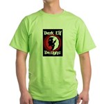 Dark Elf Designs Green T-Shirt