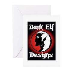 Dark Elf Designs Greeting Cards (Pk of 10)