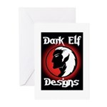 Dark Elf Designs Greeting Cards (Pk of 20)