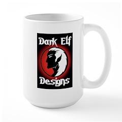 Dark Elf Designs Large Mug