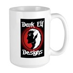 Dark Elf Designs Large Mug