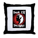 Dark Elf Designs Throw Pillow