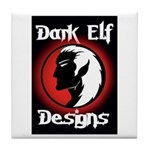 Dark Elf Designs Tile Coaster