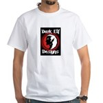 Dark Elf Designs White T-Shirt