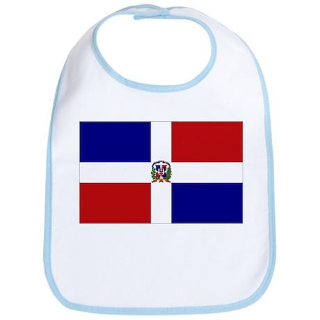 Dominican Republic Flag Bib