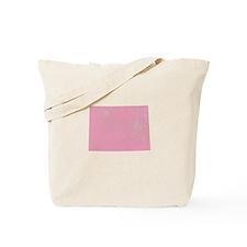 Colorado Vintage Pink Tote Bag