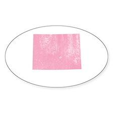 Colorado Vintage Pink Decal