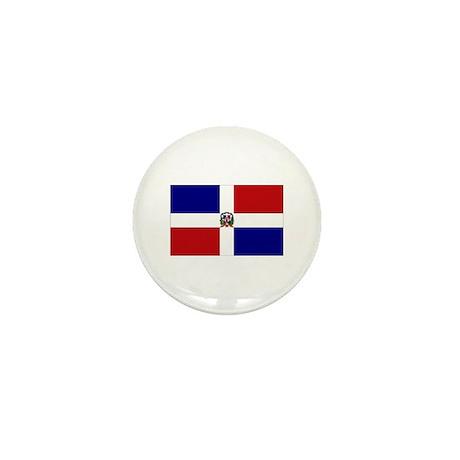 Dominican Republic Flag Mini Button (10 pack)