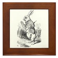 Rabbit Framed Tile