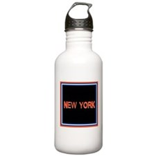 New York Stainless Water Bottle 1.0L