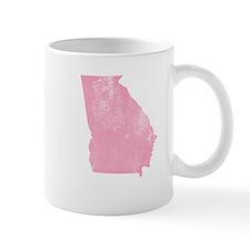 Vintage Grunge Pink Georgia Mug