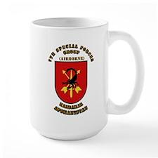 SOF - 7th SFG - Iraq - Flash with Text Mug