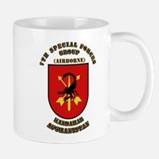 SOF - 7th SFG - Iraq - Flash with Text Mug