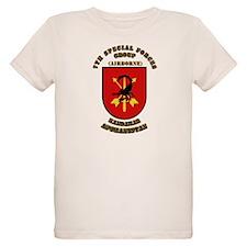 SOF - 7th SFG - Iraq - Flash with Text T-Shirt