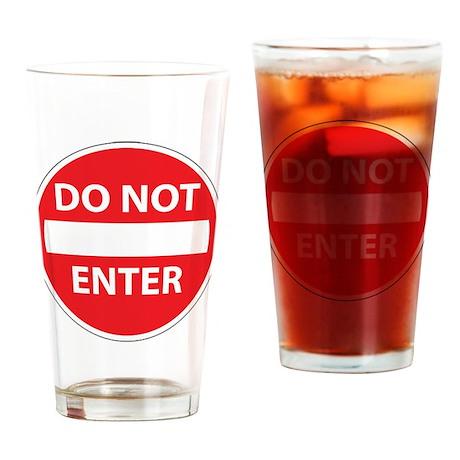 DNE2 Drinking Glass
