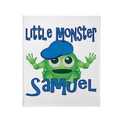 Little Monster Samuel Throw Blanket