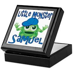 Little Monster Samuel Keepsake Box