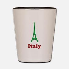 Italy eiffel tower Shot Glass