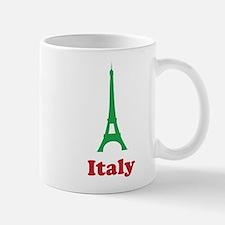Italy eiffel tower Mug