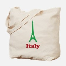 Italy eiffel tower Tote Bag