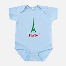 Italy eiffel tower Infant Bodysuit