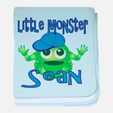 Little Monster Sean baby blanket