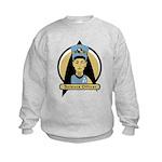 Science Officer Nefertiti Kids Sweatshirt