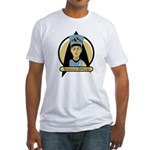 Science Officer Nefertiti Fitted T-Shirt