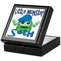 Little Monster Seth Keepsake Box