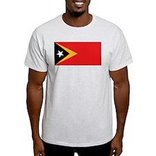 Flag of East Timor Ash Grey T-Shirt