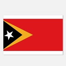 Flag of East Timor Postcards (Package of 8)