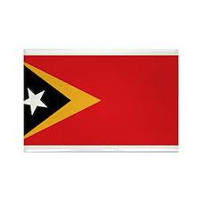 Flag of East Timor Rectangle Magnet
