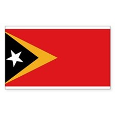 Flag of East Timor Rectangle Decal