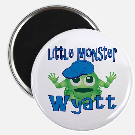 Little Monster Wyatt Magnet