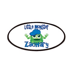 Little Monster Zachary Patches