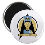 Science Officer Nefertiti Magnet