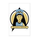 Science Officer Nefertiti Mini Poster Print