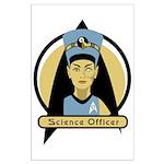 Science Officer Nefertiti Large Poster