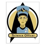Science Officer Nefertiti Small Poster
