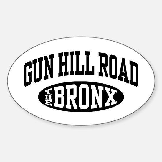 Gun Hill Road The Bronx Sticker (Oval)