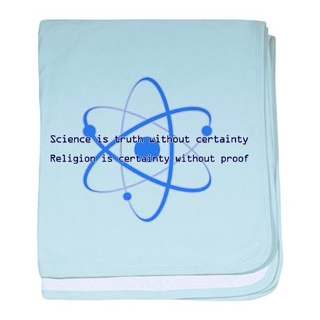 Science Is Truth baby blanket