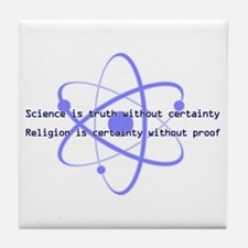Science Is Truth Tile Coaster